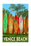 Venice Beach, California - Surfboard Fence Prints