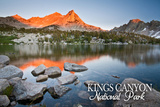 Kearsarge Lakes - Kings Canyon National Park, California Art by  Lantern Press