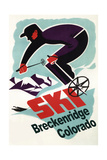 Breckenridge, Colorado - Retro Skier Posters by  Lantern Press