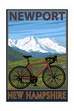 Newport, New Hampshire - Mountain Bike Prints