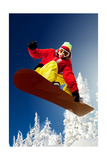 Snowboarder Posters av  Lantern Press