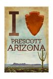 I heart Prescott Arizona Prints