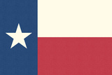 Texas State Flag Posters by  Lantern Press