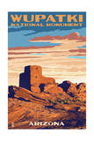Wupatki National Monument, Arizona Prints by  Lantern Press