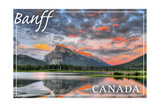 Banff, Canada - Mt. Rundle Prints by  Lantern Press