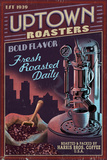 Coffee Roasters - Vintage Sign Posters by  Lantern Press