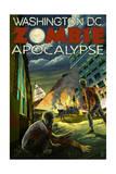 Washington, DC - Zombie Apocalypse Prints