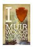 I Heart Muir Woods National Monument Prints by  Lantern Press