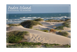 Padre Island National Seashore - Beach Posters by  Lantern Press