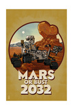 Mars or Bust 2032 Art by  Lantern Press