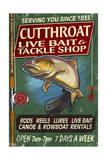 Trout Tackle - Vintage Sign Posters by  Lantern Press