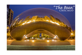 Chicago, Illinois - the Bean Posters by  Lantern Press