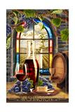 Leavenworth, Washington - Cabernet Sauvignon Poster by  Lantern Press
