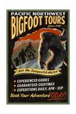 Bigfoot Tours - Vintage Sign Posters