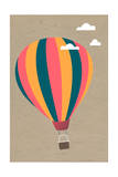 Hot Air Balloon Poster by  Lantern Press