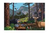 Wildlife Utopia Posters by  Lantern Press