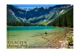 Glacier National Park, Montana - Avalanche Lake Posters by  Lantern Press