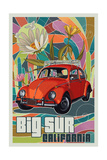 Big Sur - California - VW Bug Posters by  Lantern Press