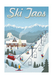 Taos, New Mexico - Retro Scene Prints by  Lantern Press