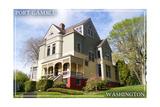 Port Gamble, Washington - Mansion Posters by  Lantern Press