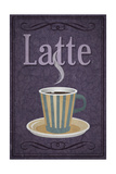 Latte Sign Posters by  Lantern Press
