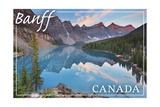 Banff, Canada - Moraine Lake Prints by  Lantern Press