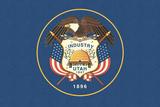 Utah State Flag Posters by  Lantern Press