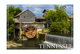Tennessee - Mill Prints by  Lantern Press