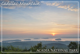 Acadia National Park, Maine - Cadillac Mountain Posters by  Lantern Press