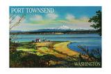 Port Townsend, Washington - Mt. Baker View Prints