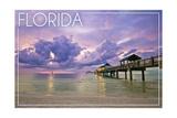 Florida - Ocean Pier Prints
