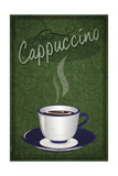 Cappuccino Sign Posters
