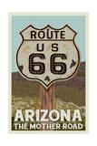 Arizona - Route 66 Poster
