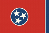 Tennessee State Flag Prints by  Lantern Press
