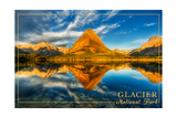 Glacier National Park, Montana - Mt. Grinnell Posters by  Lantern Press