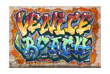 Venice Beach, California - Graffiti Prints by  Lantern Press