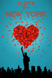 I Love You New York City, NY Posters by  Lantern Press