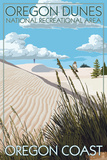 Oregon Dunes National Recreational Area - Day Scene Posters by  Lantern Press