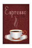 Espresso Sign Art by  Lantern Press