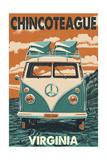 Chincoteague, Virginia - VW Van Prints
