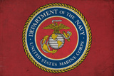 Department of the Marine Corps - Military - Insignia Posters by  Lantern Press