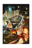 Gnomes in the City Poster