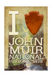 I Heart John Muir National Historic Site Poster by  Lantern Press