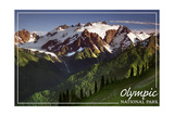 Olympic National Park - Mount Olympus Posters