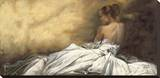 Eleganza in Bianco Stretched Canvas Print by Andrea Bassetti