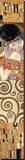 Collage Panel II Trykk på strukket lerret av Gustav Klimt