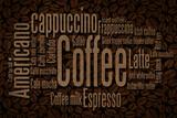 Coffee Typography Prints by  Lantern Press
