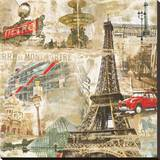 In Paris Reproduction sur toile tendue par Tyler Burke