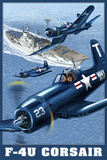 F-4U Corsair Prints by  Lantern Press