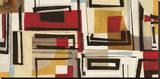 Sophie Gillen - Geometry Reprodukce na plátně